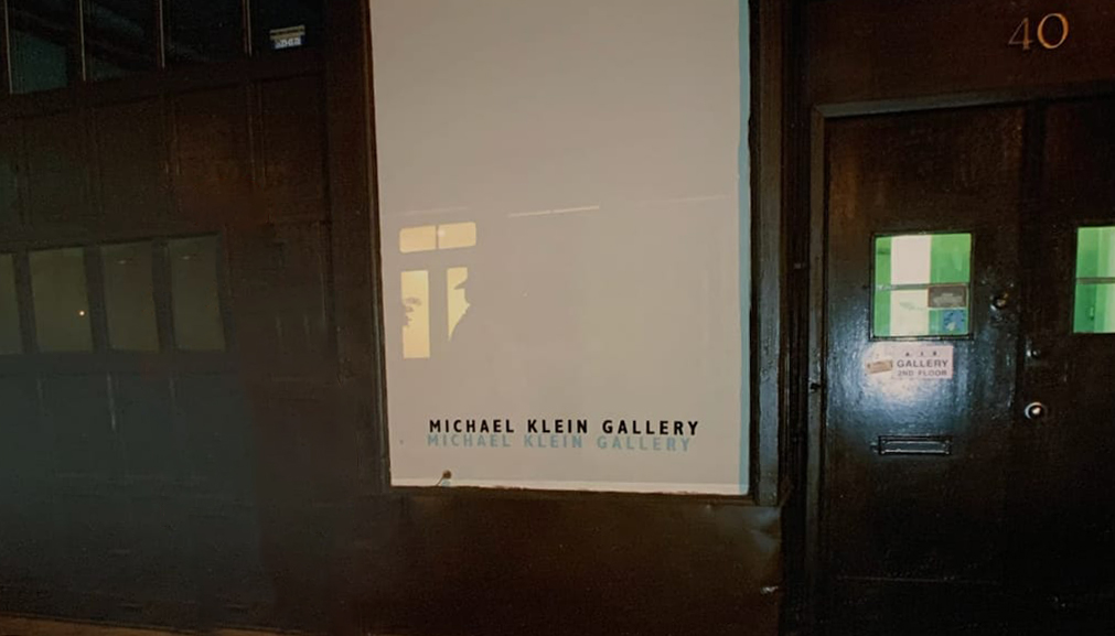Michael Klein Gallery Entrance